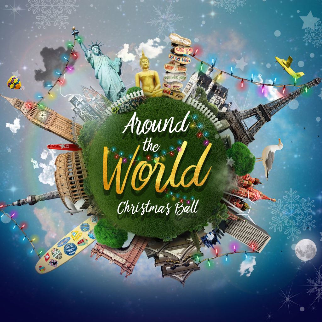 Around the World Christmas Ball 2018 Manchester